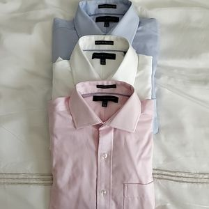 Tommy Hilfiger Premium Non Iron Dress Shirts (3x)